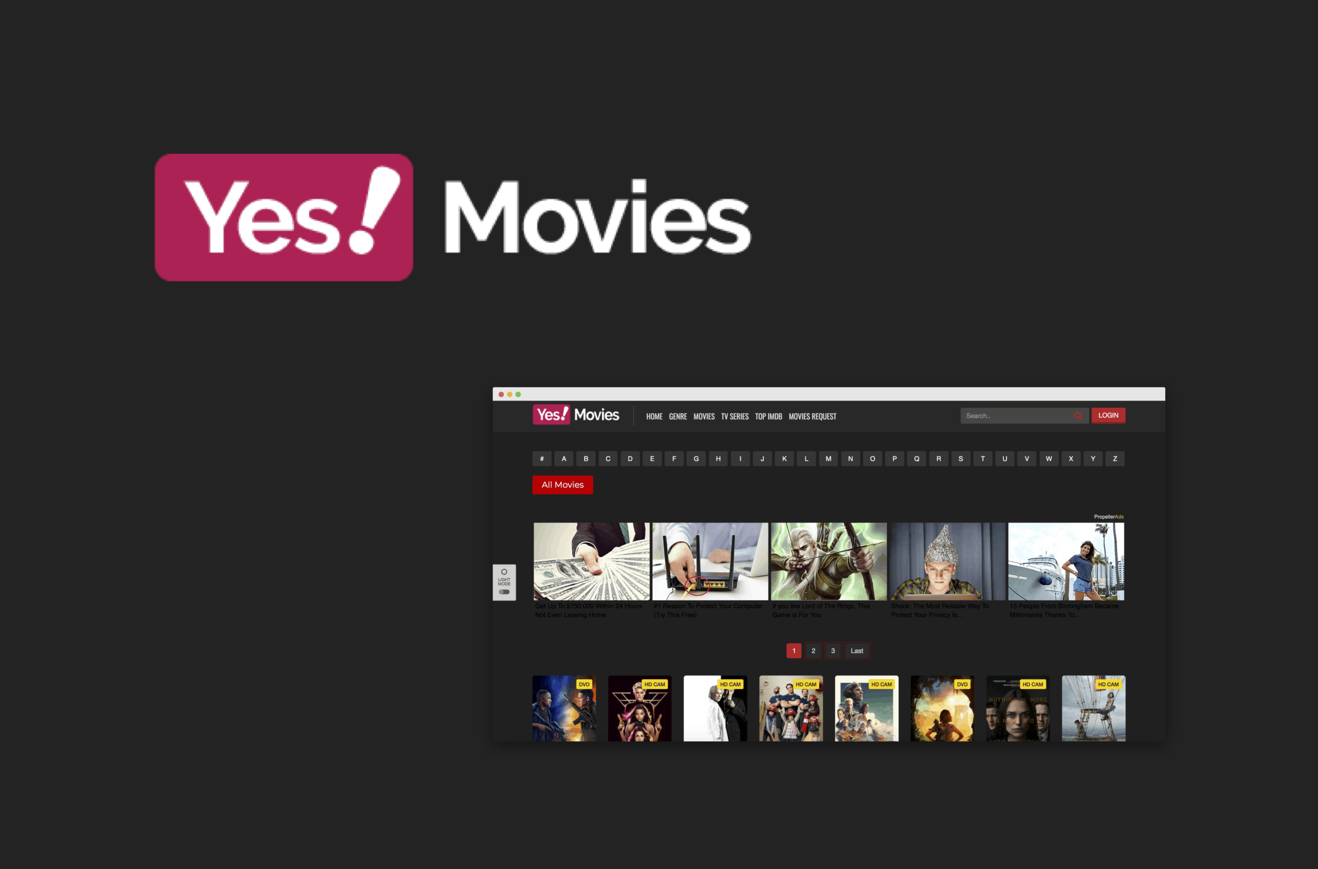 YesMovies – Some Major Categories of Movies